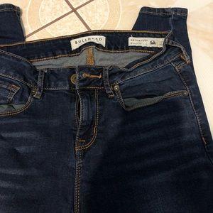 Bullhead Pacsun jeans skinniest regular dark denim